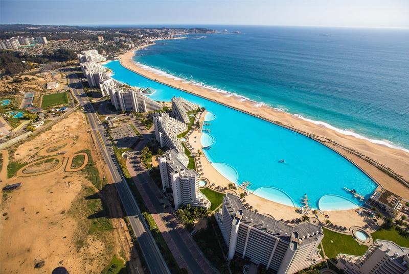 Biggest Swimming Pool (San Alfonso del Mar, Chile Area -- 19.77 acre)