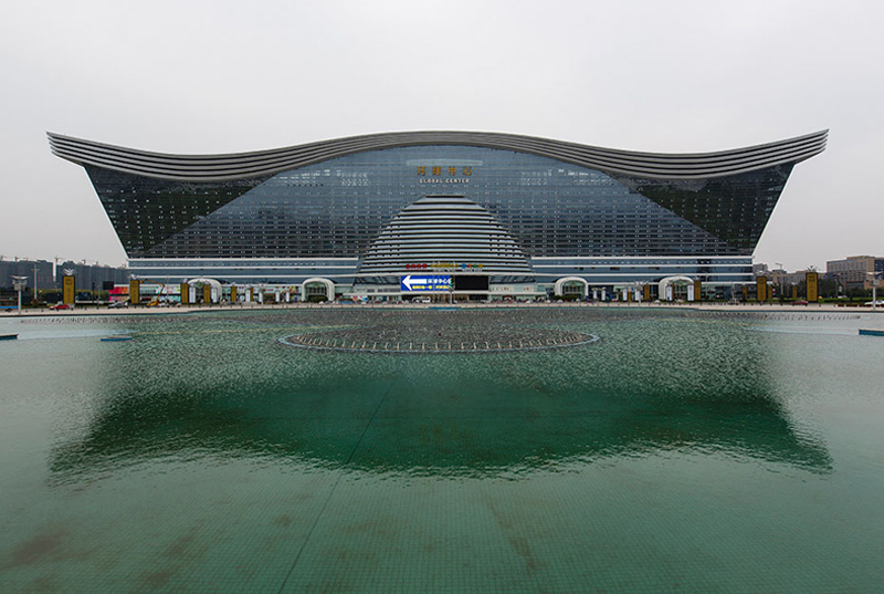 Largest Building (New Century Global Complex, China)