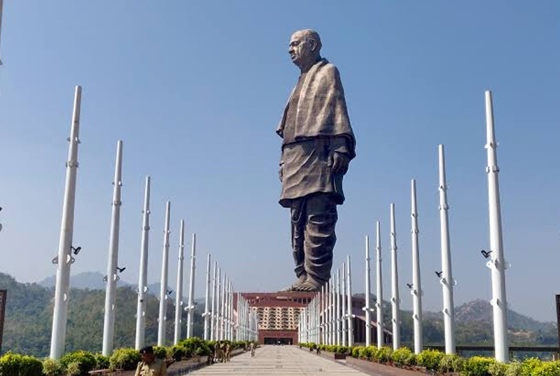 Largest Statue (Statue of Unity, India)