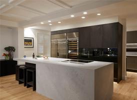 Inside A Kitchen